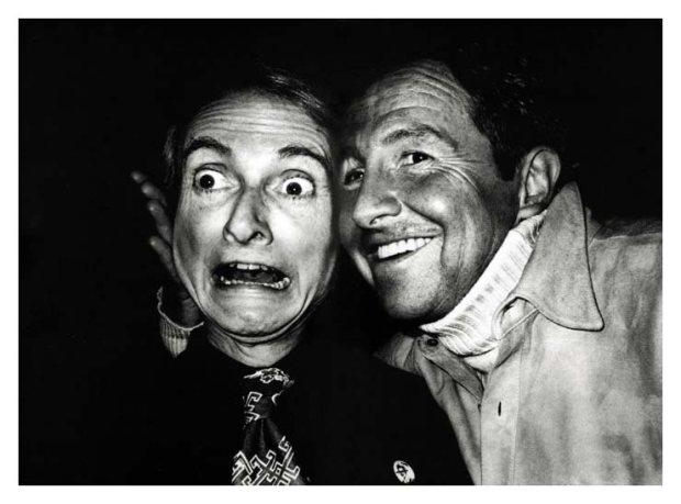 Roy Lichtenstein & Robert Rauschenberg, NY 1983
