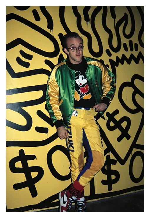 Keith Haring, NY 1985