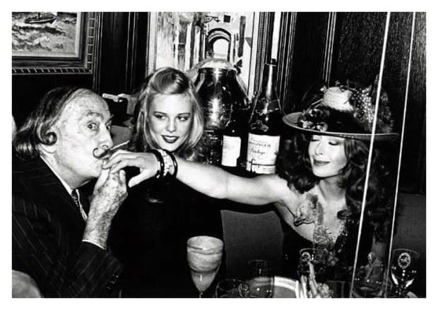 Salvadore Dali, Janet Daly, NY 1979 NY 1979
